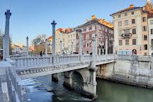 Cobblers' Bridge, Ljubljana, Slovenia