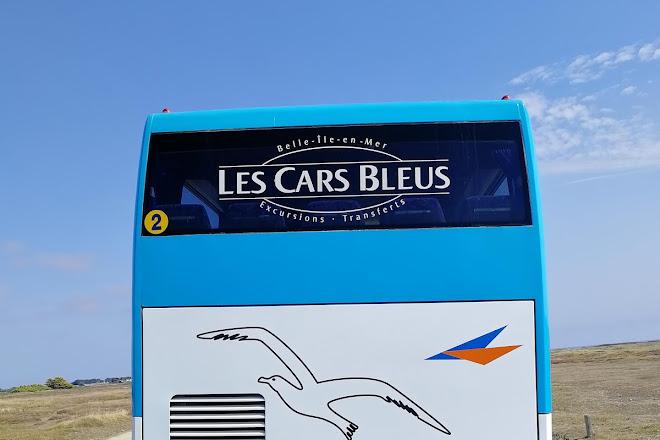 Les Cars Bleus, Le Palais, France