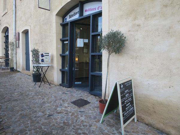 Atelier mosaïque Montpellier - C.Boubli