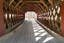 Creamery Covered Bridge, Brattleboro, United States