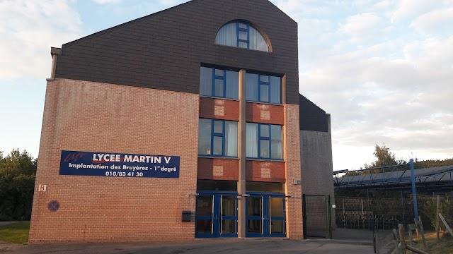 Lycée Martin V-Bruyères