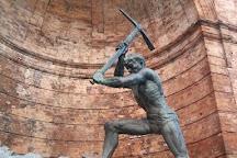 Statua del Cavatore, Catanzaro, Italy