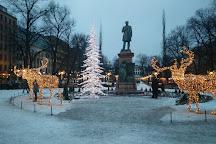 The Esplanadi Park, Helsinki, Finland