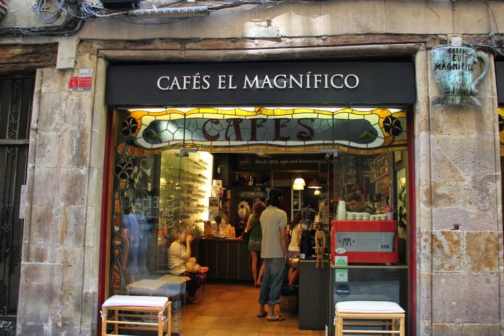 Cafés El Magnífico: A Work-Friendly Place in Barcelona