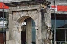 Portal de Pedra do Antigo Presidio Tiradentes, Sao Paulo, Brazil