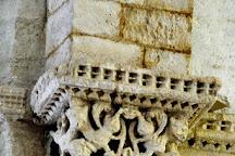 Eglise Sainte-Radegonde de Talmont, Talmont sur Gironde, France