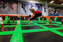 Elevated Sportz Indoor Trampoline Park, Bothell, United States