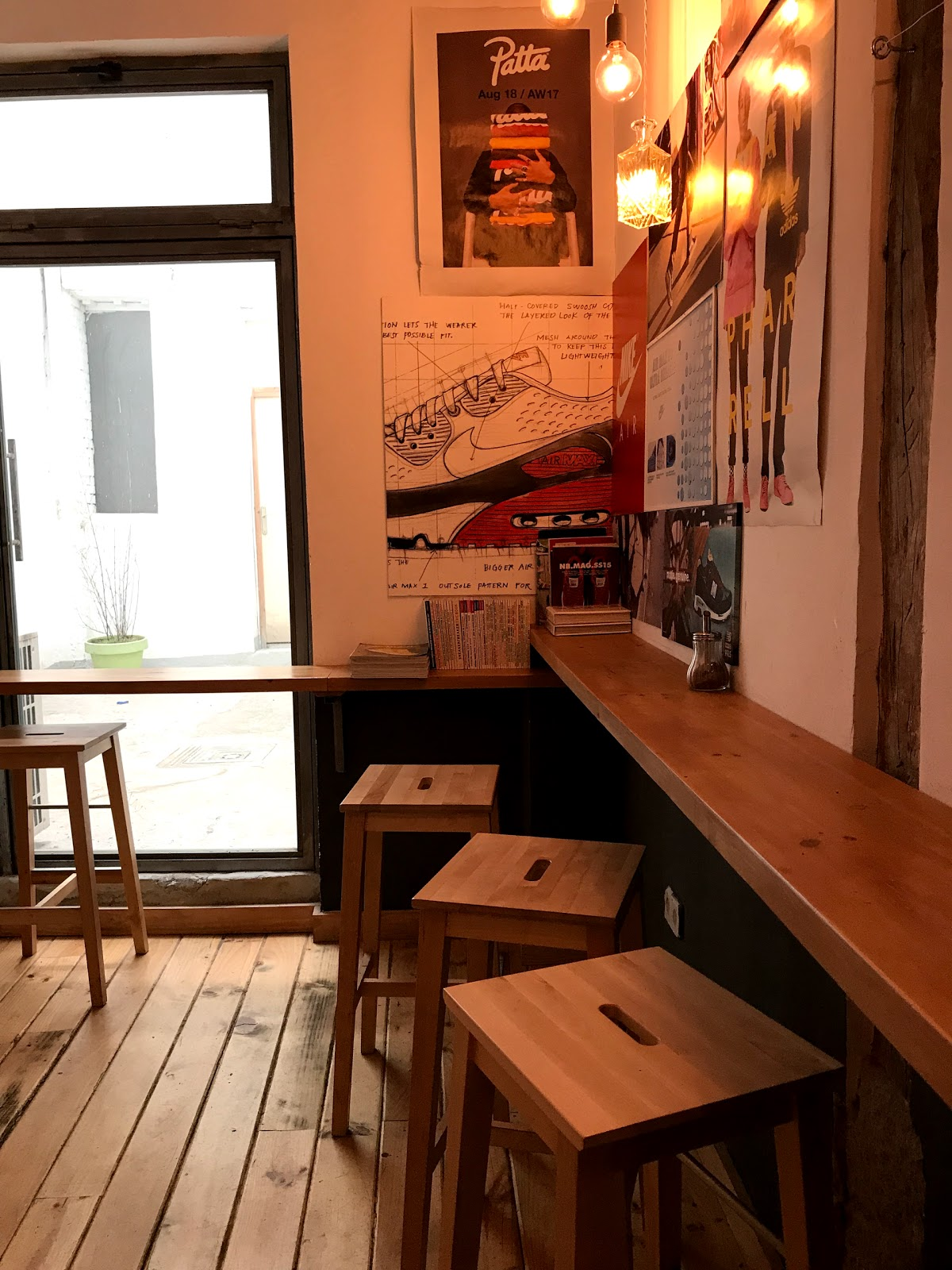 Coffee and Kicks: A Work-Friendly Place in Madrid