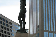 Statue Icare, Courbevoie, France