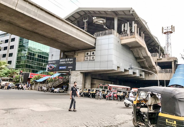 chakala metro station mumbai