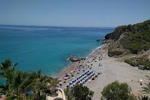 Playa La Caleta, Villajoyosa, Spain