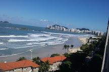 Pitangueiras beach, Guaruja, Brazil