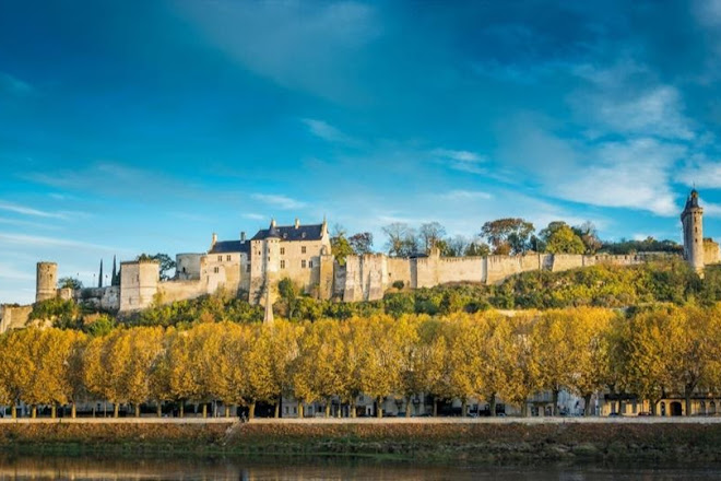 Forteresse royale de Chinon, Loire Valley, France