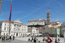Tartini Square (Tartinijev trg), Piran, Slovenia