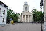 Евангелическо-лютеранская церковь Св. Николая на фото Вентспилса