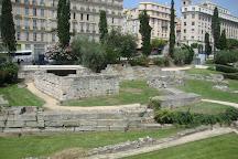 Jardin des Vestiges, Marseille, France
