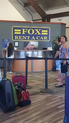 Fox Rent a Car maui hawaii