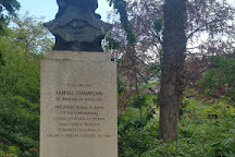 Buste de Samuel de Champlain, Paris, France