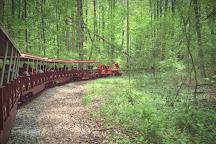Miniature Train and Carousel at Wheaton Regional Park, Wheaton, United States