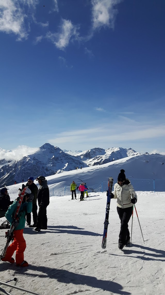 Sestriere Skiing Hill