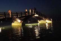 Wooden Bridge, Lefkada Town, Greece