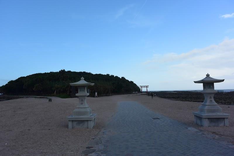 青島神社 鳥居