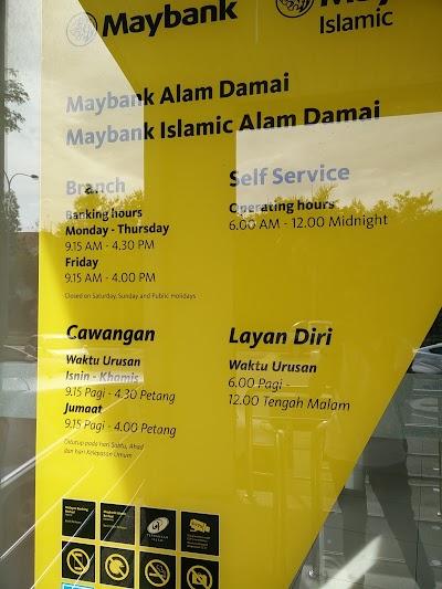 Maybank Kuala Lumpur 60 3 9100 1802