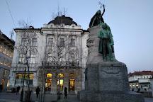 Prešeren's Monument, Kranj, Slovenia