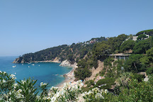 Playa Santa Maria de Llorell, Tossa de Mar, Spain