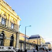 Железнодорожная станция  станции  Budapest Keleti