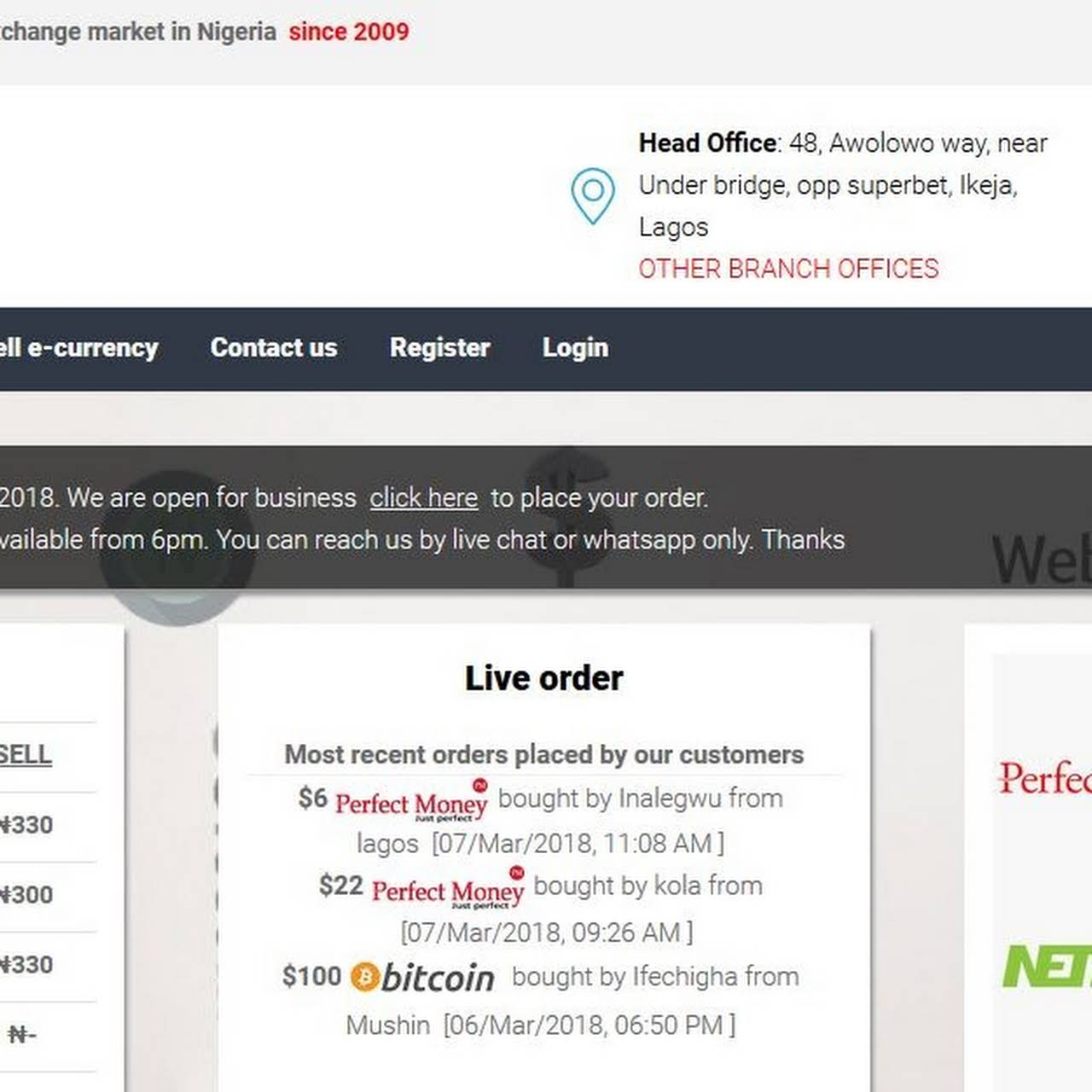 Exchangeindeed - Currency Exchange Service in Ikeja