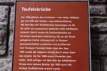 Teufelsbrucke, Andermatt, Switzerland
