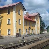 Железнодорожная станция  Třeboň