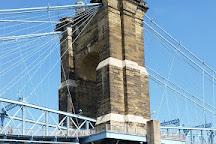 Roebling Suspension Bridge, Cincinnati, United States