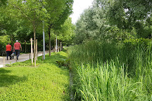 Parc Clichy-Batignolles - Martin-Luther-King, Paris, France