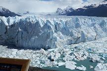 Estacionamiento Pasarelas Glaciar Perito Moreno, El Calafate, Argentina