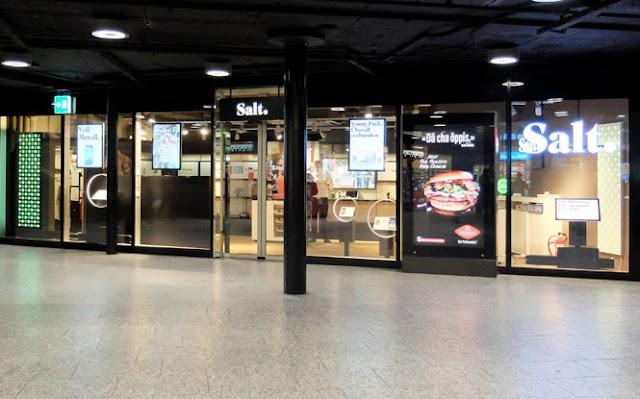 Salt Store Bern Bahnhof SBB