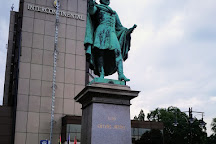 Statue of Baron Eotvos Jozsef, Budapest, Hungary