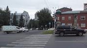 Новосибирское государственное художественное училище, Коммунистическая улица на фото Новосибирска