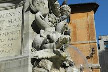 Fontana Barcaccia, Rome, Italy