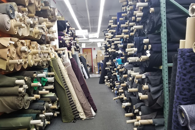 Visit Mood Fabrics on your trip to New York City or United