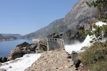 Wapama Falls at Hetch Hetchy, Yosemite National Park, United States