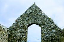 Cloncha Church & St Buadan'S Cross, Culdaff, Ireland