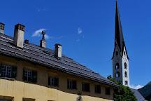 Baselgia da San Luzi, Zuoz, Switzerland