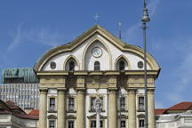 Ursuline Church of the Holy Trinity, Ljubljana, Slovenia