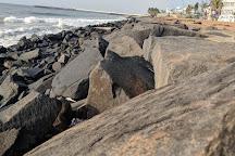 Rock Beach, Pondicherry, India