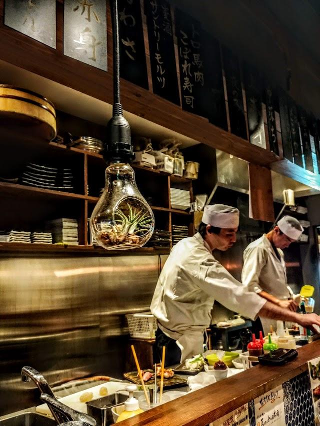 Kagurazakabishamonten Niku Sushi
