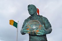 Mick O'Dwyer Statue, Waterville, Ireland