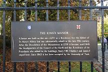 King's Manor, York, United Kingdom
