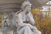 Danubius Fountain, Budapest, Hungary
